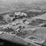 AERIAL VIEW Belt and Frederick circa 1962