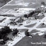 AERIAL VIEW Circa Pre-1961 Belt Highway & Frederick