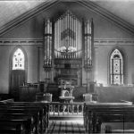 Ashland United Methodist Pipe Organ as it appeared in 1898