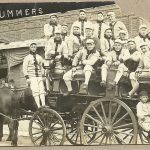 Baseball team RPPC – St. Joseph, Missouri Drummers – Western League – c. 1910