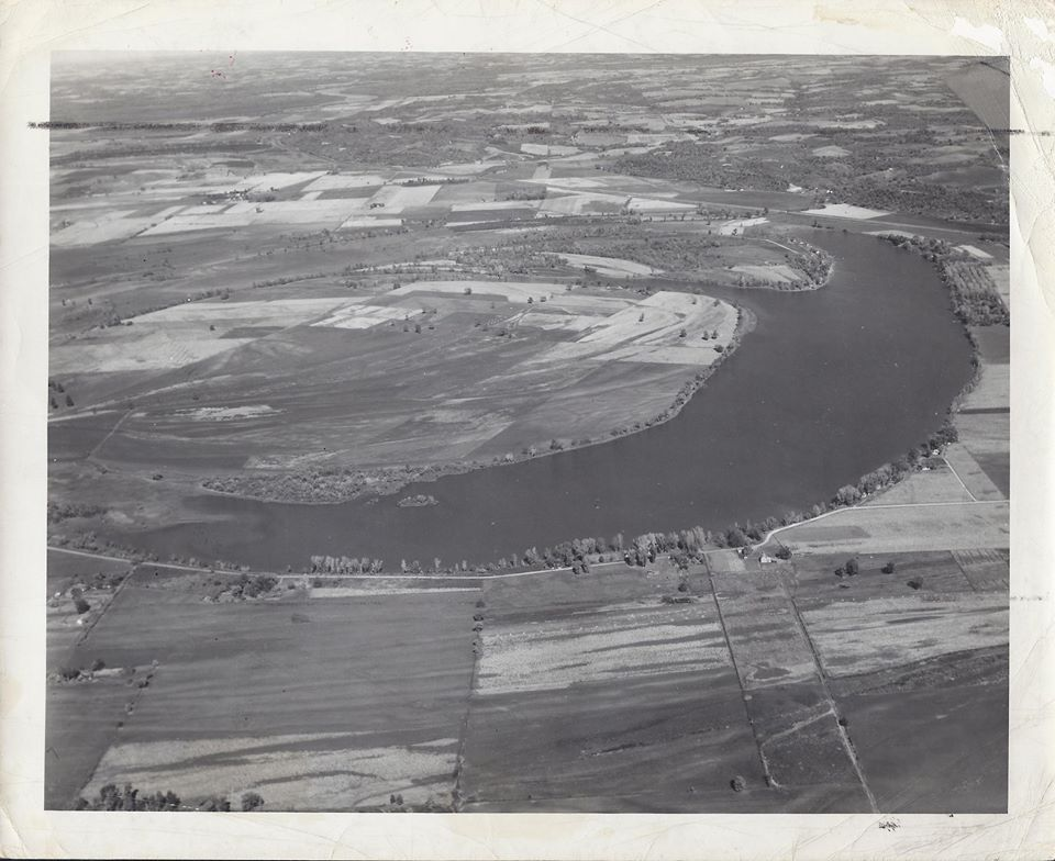 Bean Lake from the Air 10-18-1945