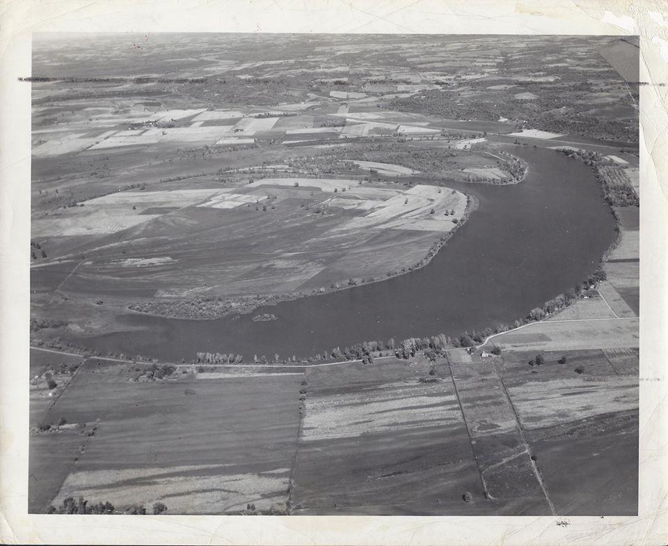 Bean Lake from the Air 10-18-1945