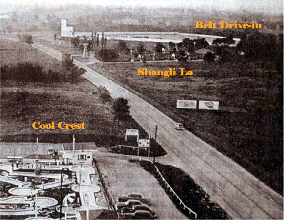 Belt Drive In theater 2203 North Belt Highway St. Joseph Mo 4