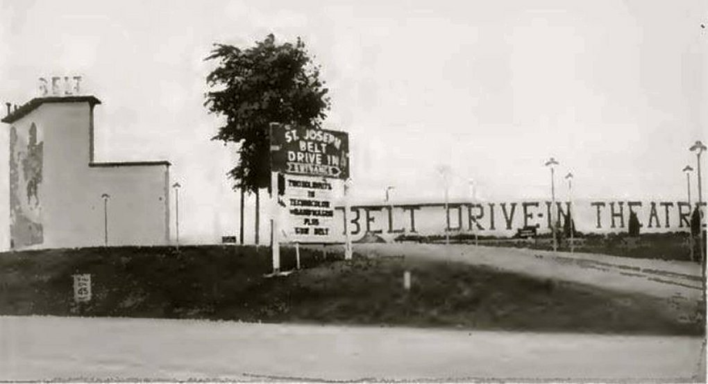 Belt Drive In theater 2203 North Belt Highway St. Joseph Mo 6