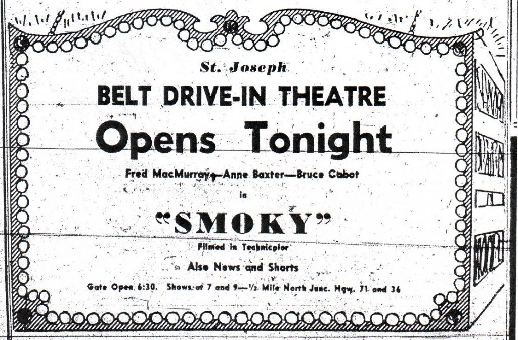 Belt Drive In theater 2203 North Belt Highway St. Joseph Mo 7