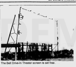 Belt was torn down on 19 Nov-1982 1st of3 Pictures