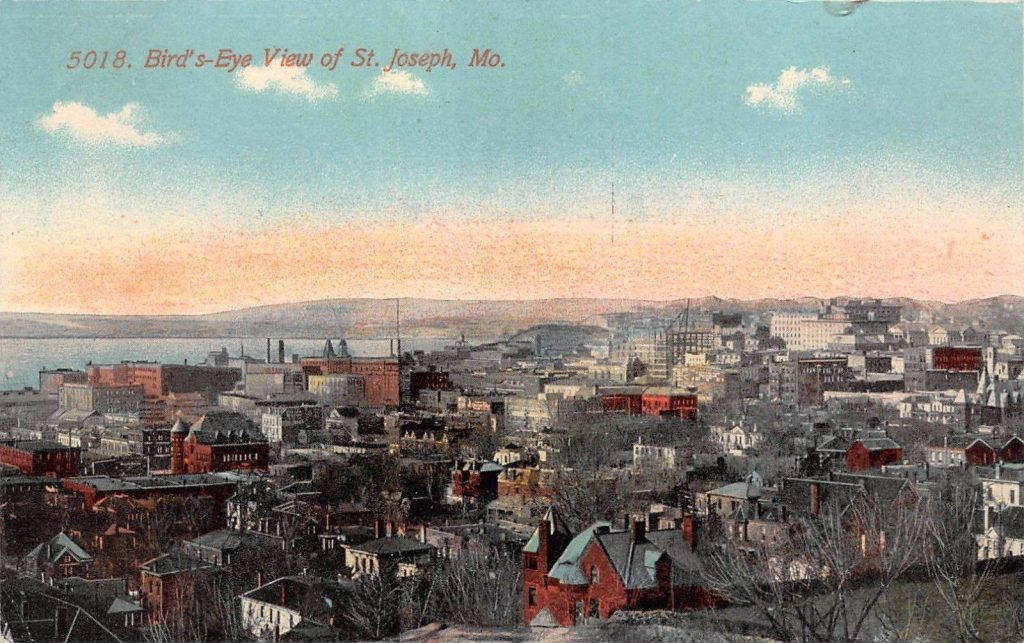 Bird's-Eye View of St. Joseph, MISSOURI