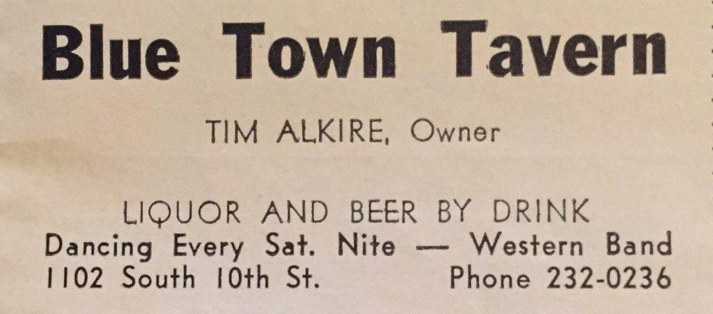 Blue Town Tavern