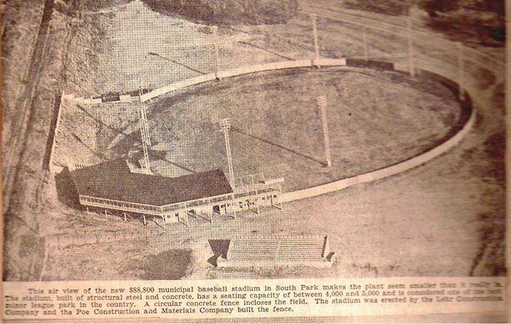 City Stadium opens South Park. 1939