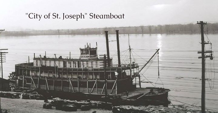 City of St. Joseph steamboat. 1901 photo