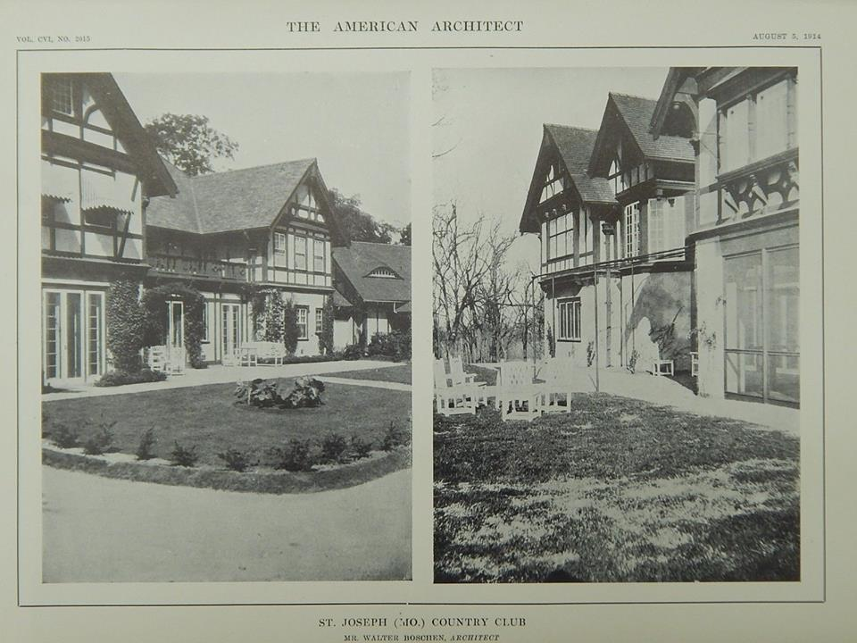 Country Club, St. Joseph, MO, 1914