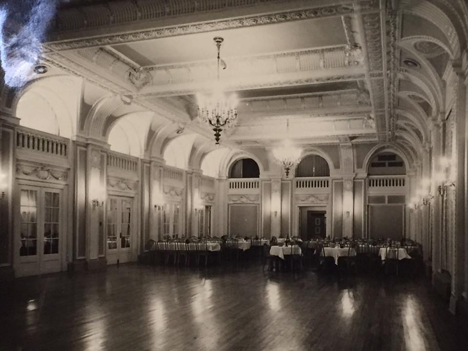 Crystal ballroom from the Robidoux Hotel.