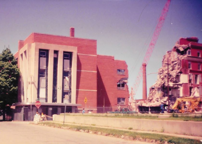 Demolition of Sisters Hospital 1