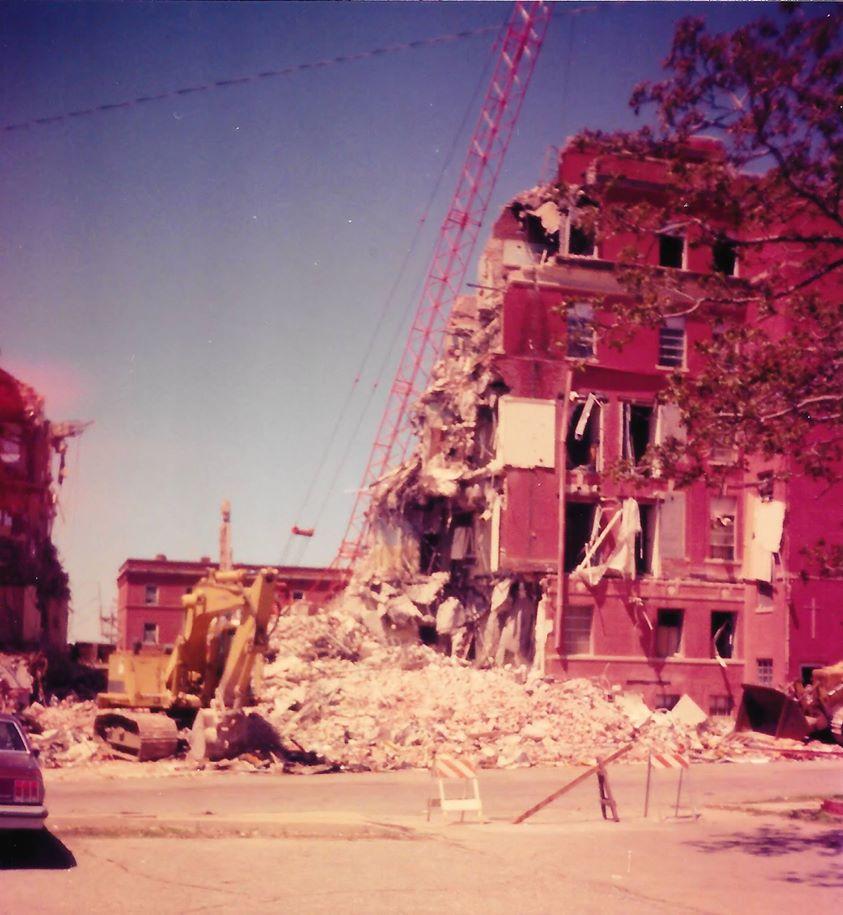 Demolition of Sisters Hospital 2
