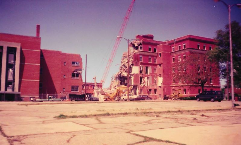 Demolition of Sisters Hospital 3
