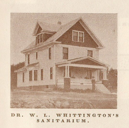 Dr. William L. Whittington was the Saint Joseph coroner in 1889