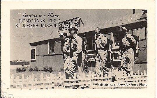 During World War II, the U.S. Army Air Forces established Rosecrans Field