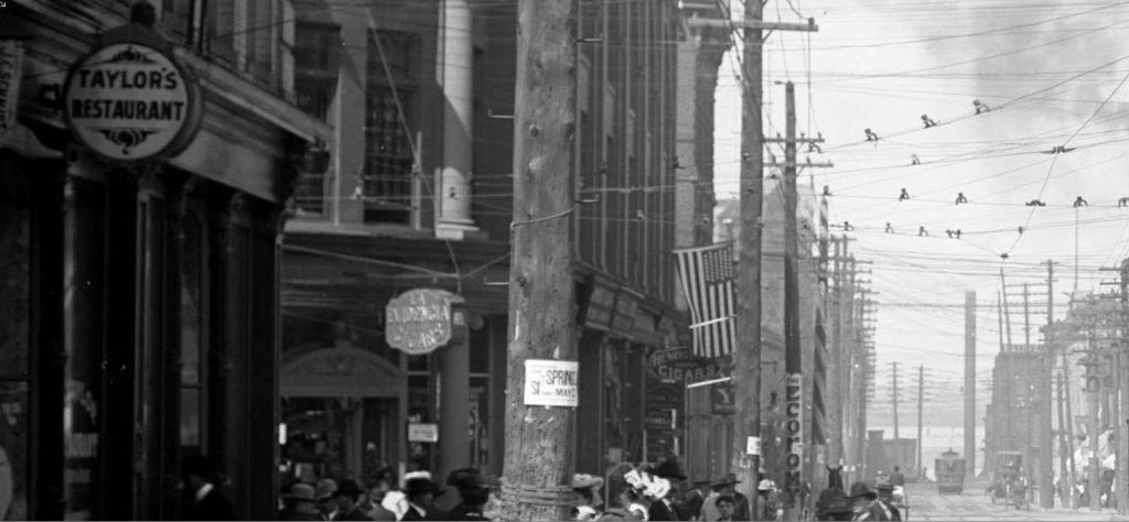Edmond street 1890s