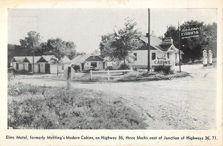Elms Motel Highway 36 St Joseph MO
