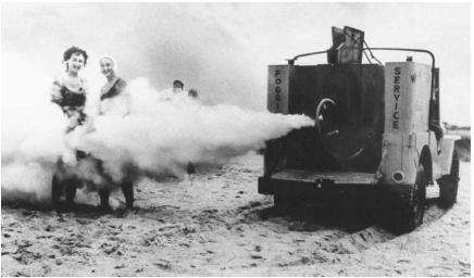 Fogging Fire Truck