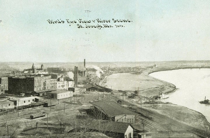 Francis Street RR Passenger Station 1911