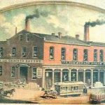Frank Sommer Steam Bakery-Cracker Company in 1880
