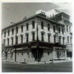 Garlands Tavern which was located on the NE corner of N 4th and Edmond