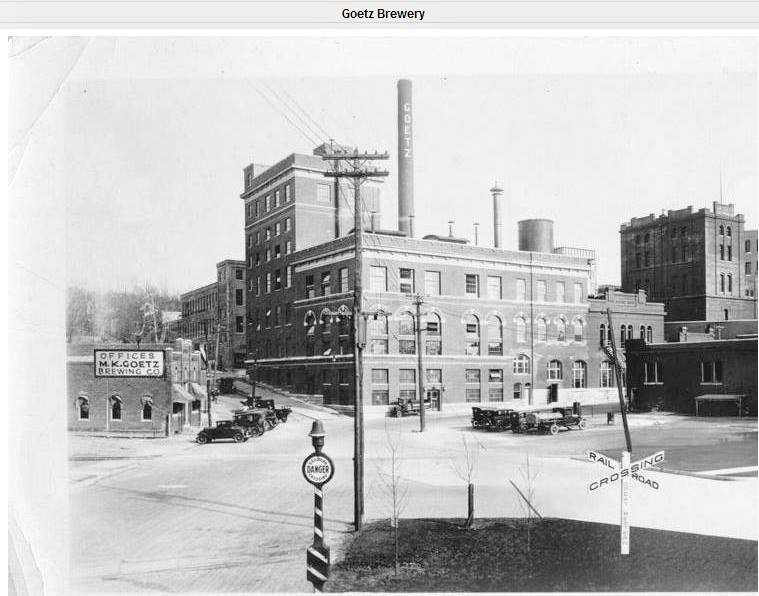 Goetz Brewery ca 1920