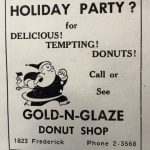 Gold-N-Glaze Donuts ad