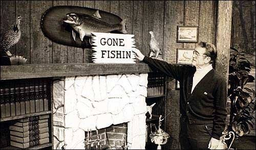 Gone Fishin'…..Instead of Just a Wishin