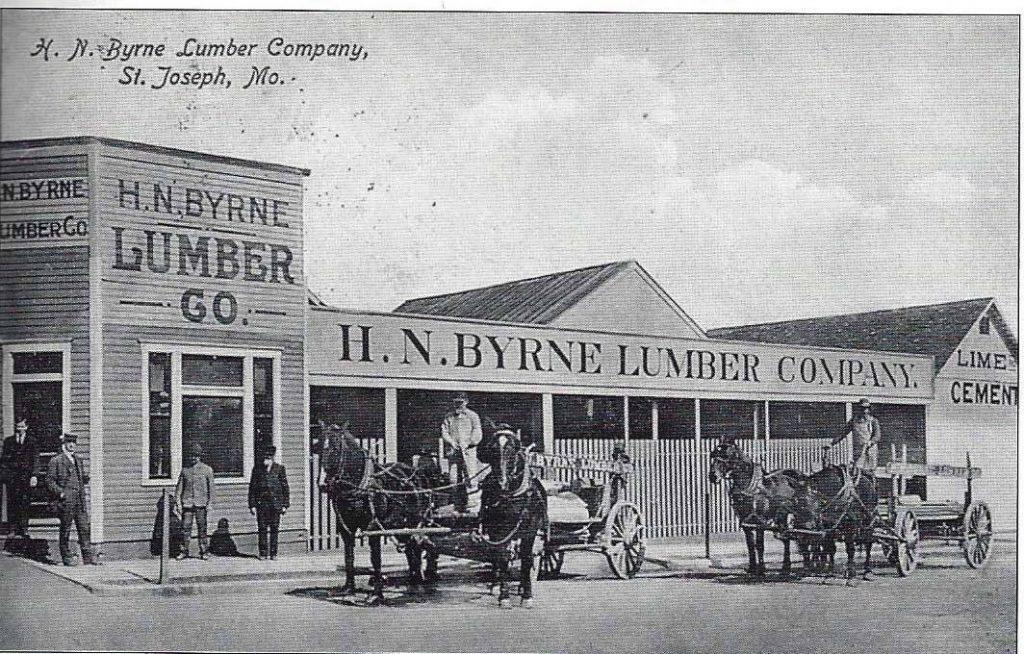 H.N. Byrne Lumber Co. – 502 Midleton – Harry Nunning Byrne.