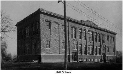 Hall Elementary 25th & Duncan circa 1910