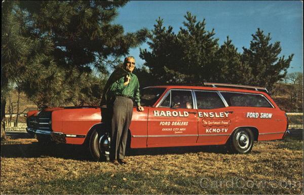 Harold Ensley, Champion KCMO-TV5 and KCMO Radio 81 Fishing and Hunting Personality