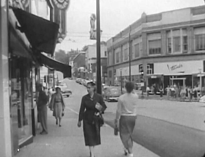 Hirsch's Dept Store 1954