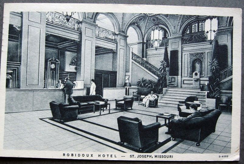 Hotel Robidoux Lobby 1936dl0