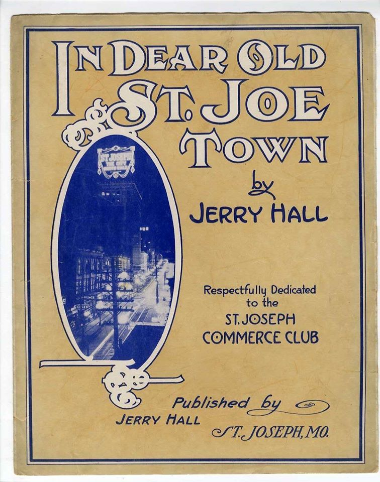 In Dear Old St. Joe Town 1915 Sheet Music – I Love St ...