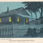 Jessie James Home Postcard