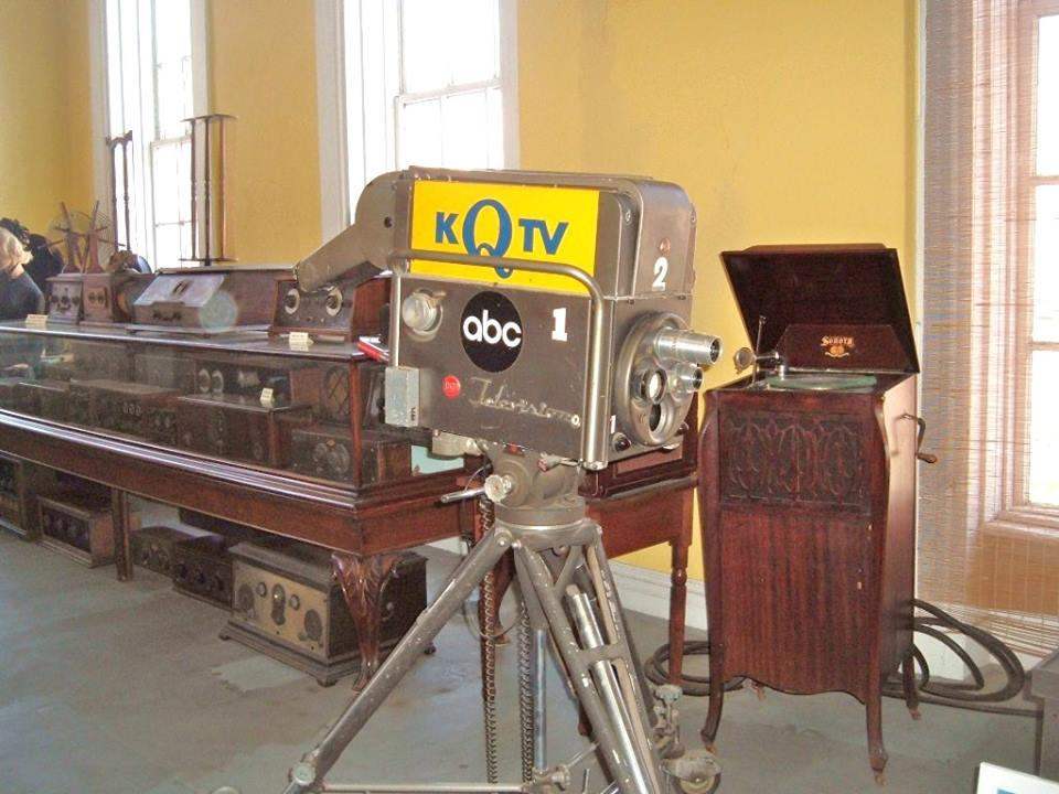 KFEQ TV Camera in the Patee House Museum