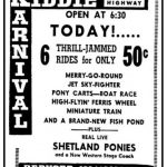 Kiddie Karnival July 11,1954