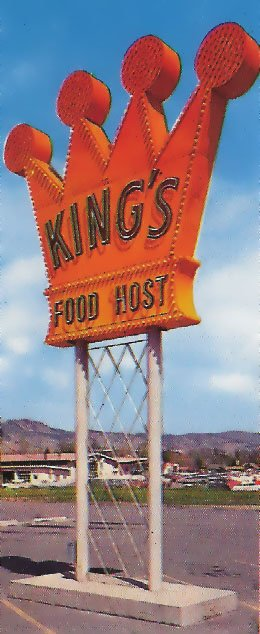 King's Food Host was in business from 1968-1974