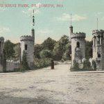 Krug Oark Entrance Postcard