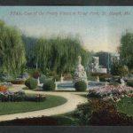 Krug Park St Joseph MO postcard 1910s