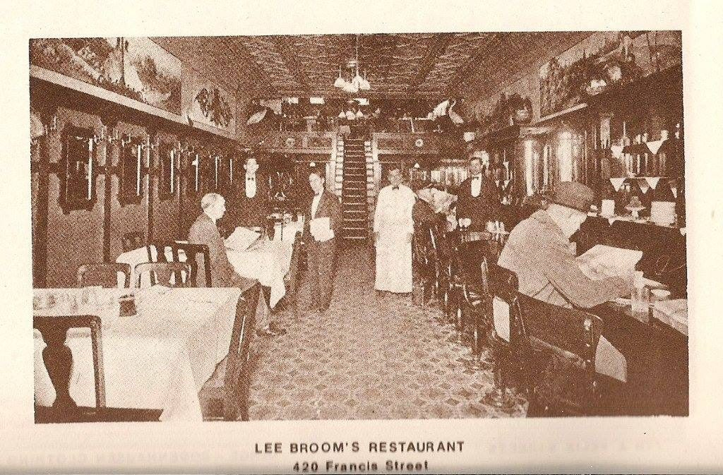 Lee Broom's Lunchroom interior in the Rock Island Bldg.