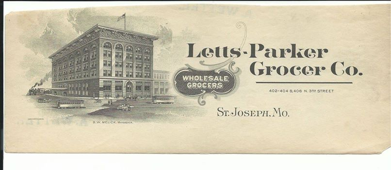 Letts Parker Grocery Company St. Joseph Mo