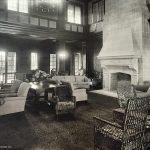 Lounging Room in Saint Joseph Country Club. Architect circa 1922