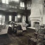 Lounging Room in Saint Joseph Country Club. Architect circa 1922