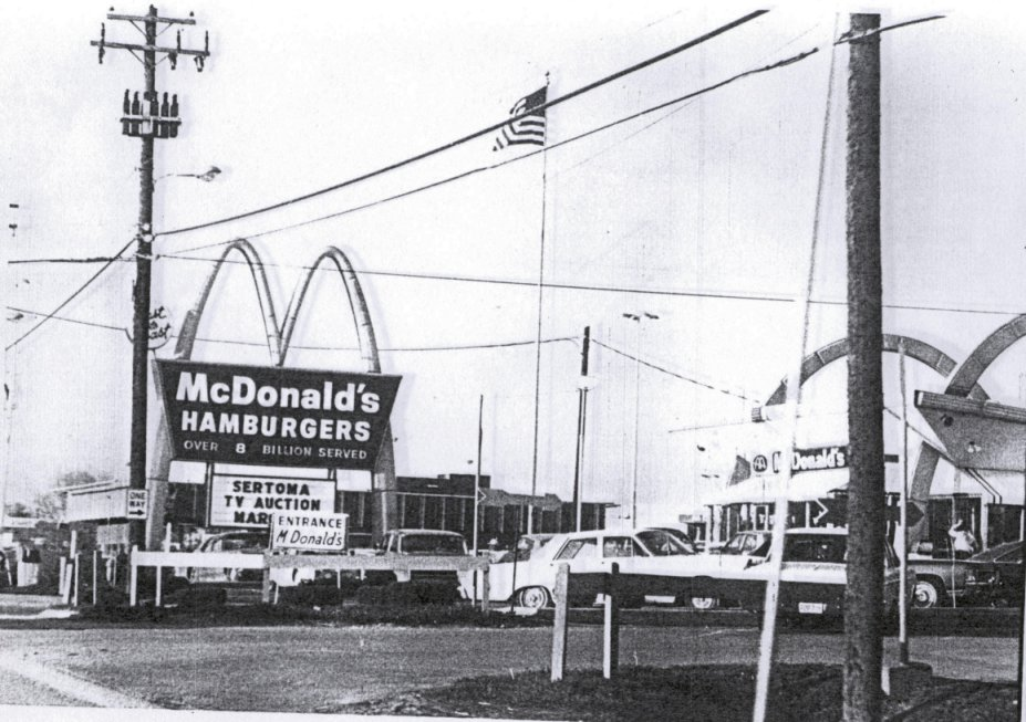 McDonalds view from the Belt Highway