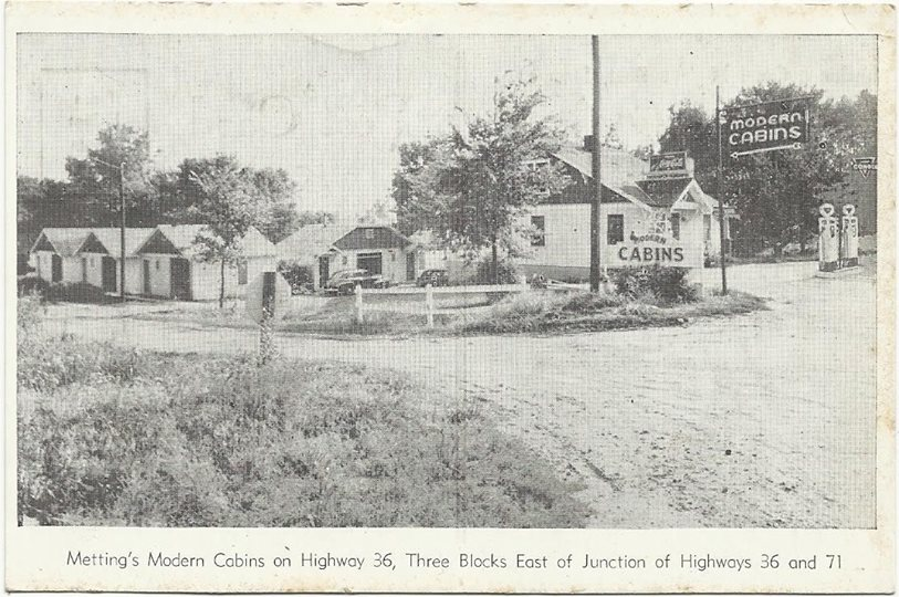 Metting's Modern Cabins, St. Joseph, Missouri