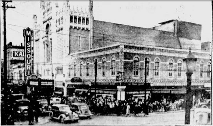 Missouri Theater from about 1936