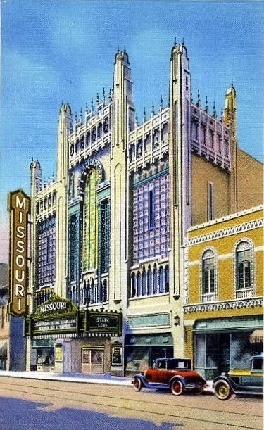 Missouri Theatre on Edmond Street